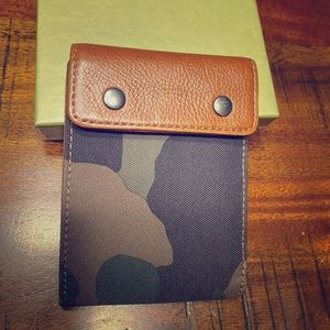 Men's Fossil leather Camo wallet